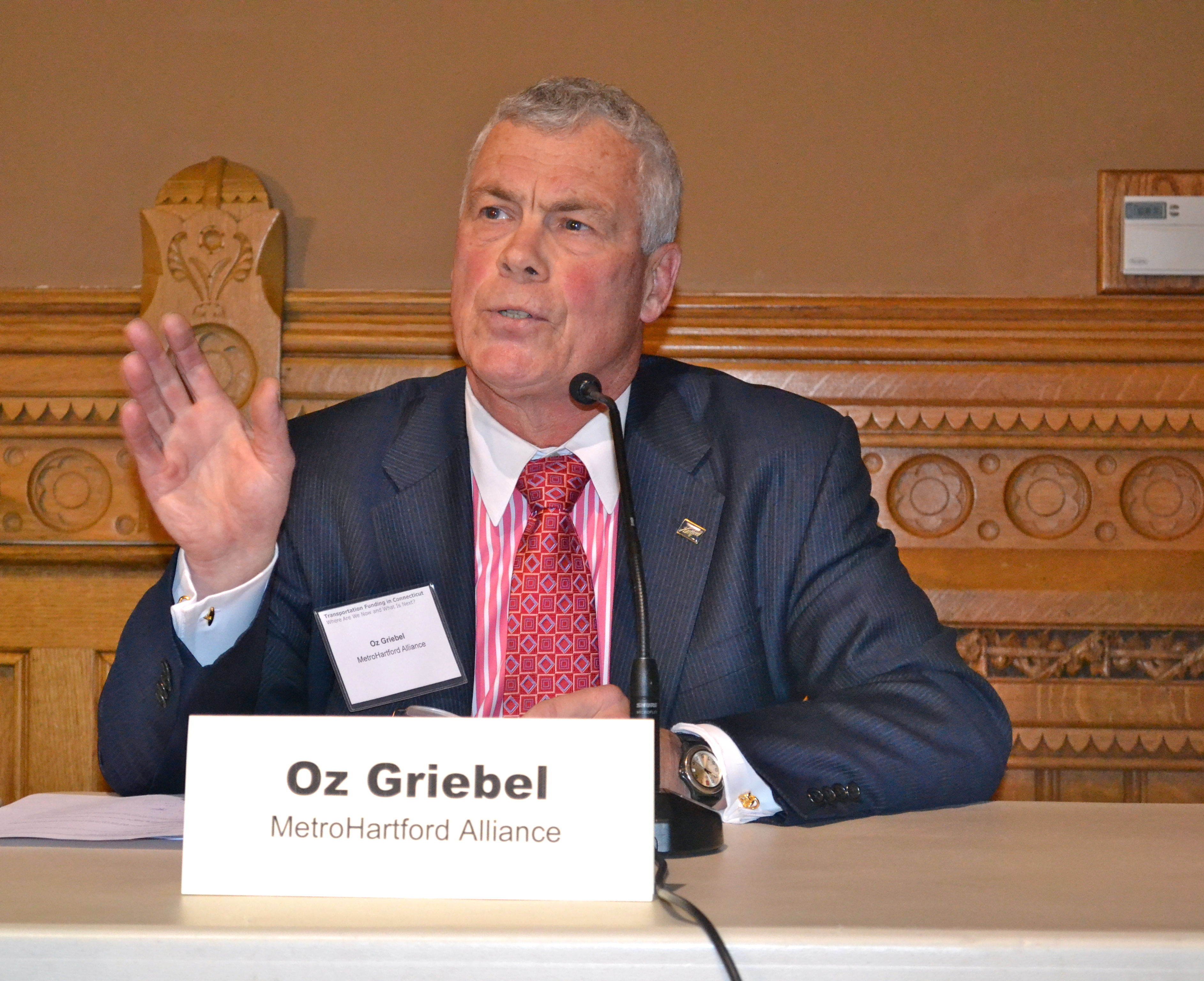 Oz Griebel of the MetroHartford Alliance
