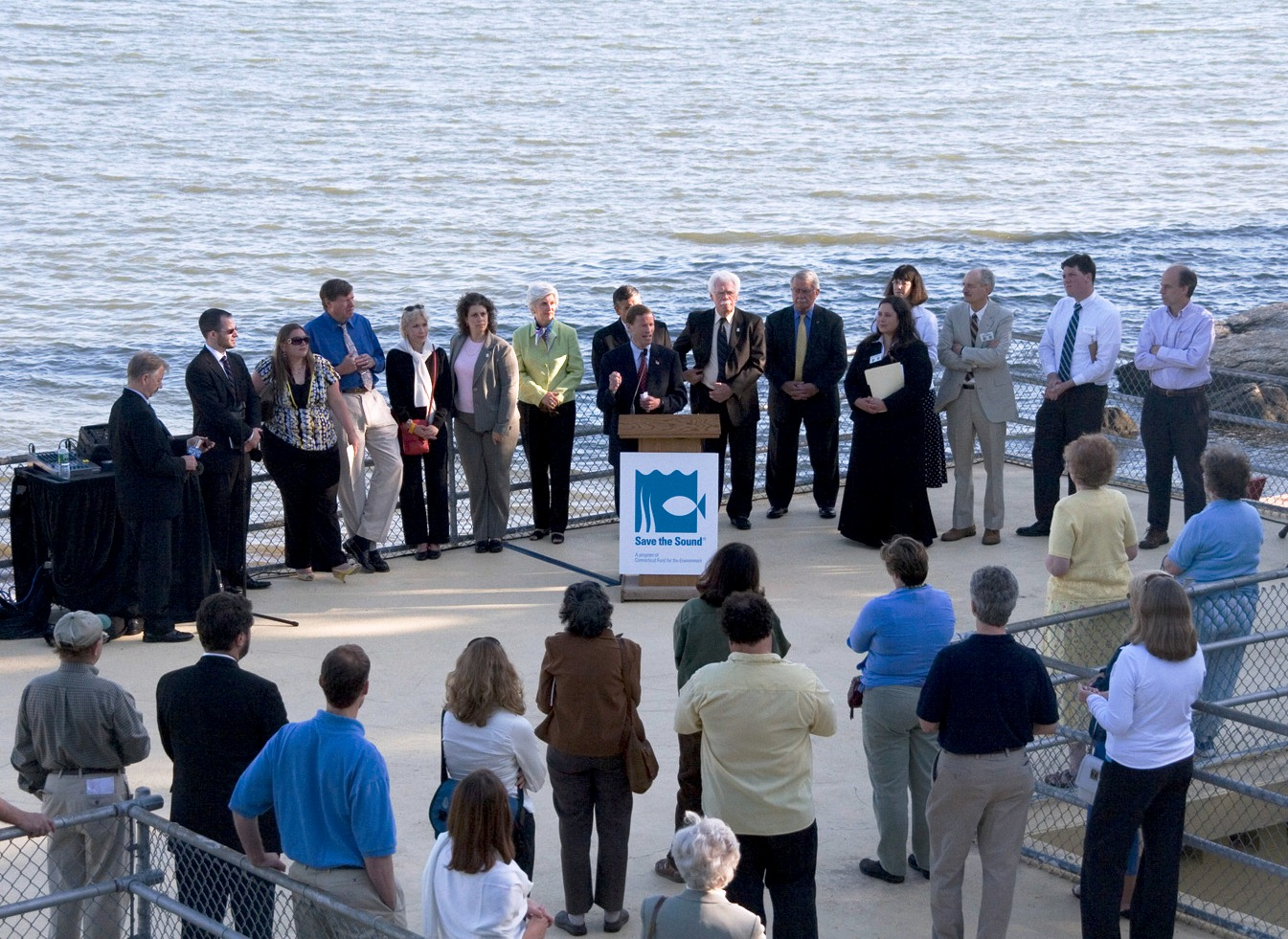 Broadwater Press Conference in 2008