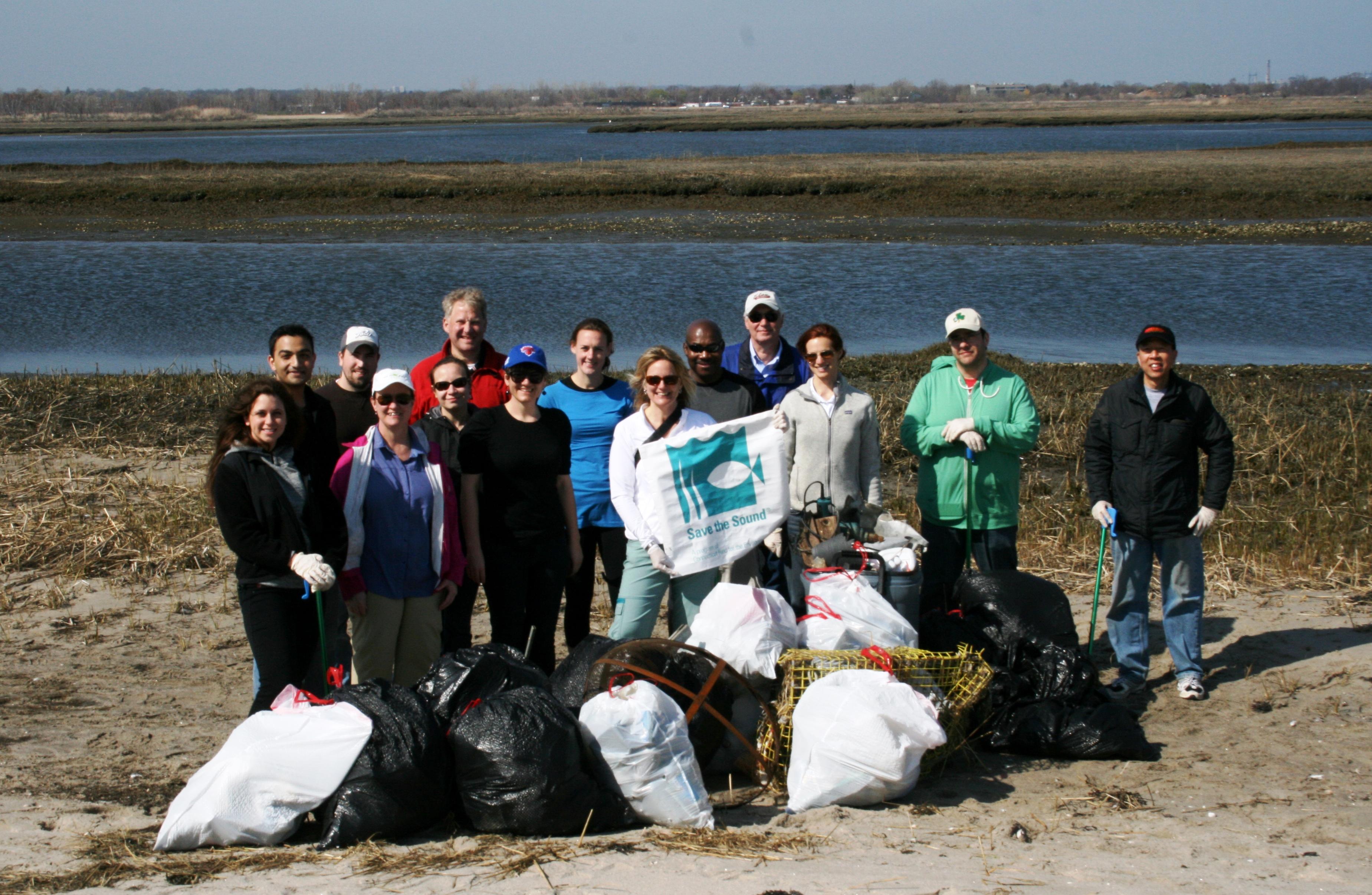 Diageo Beach Cleanup at Long Beach