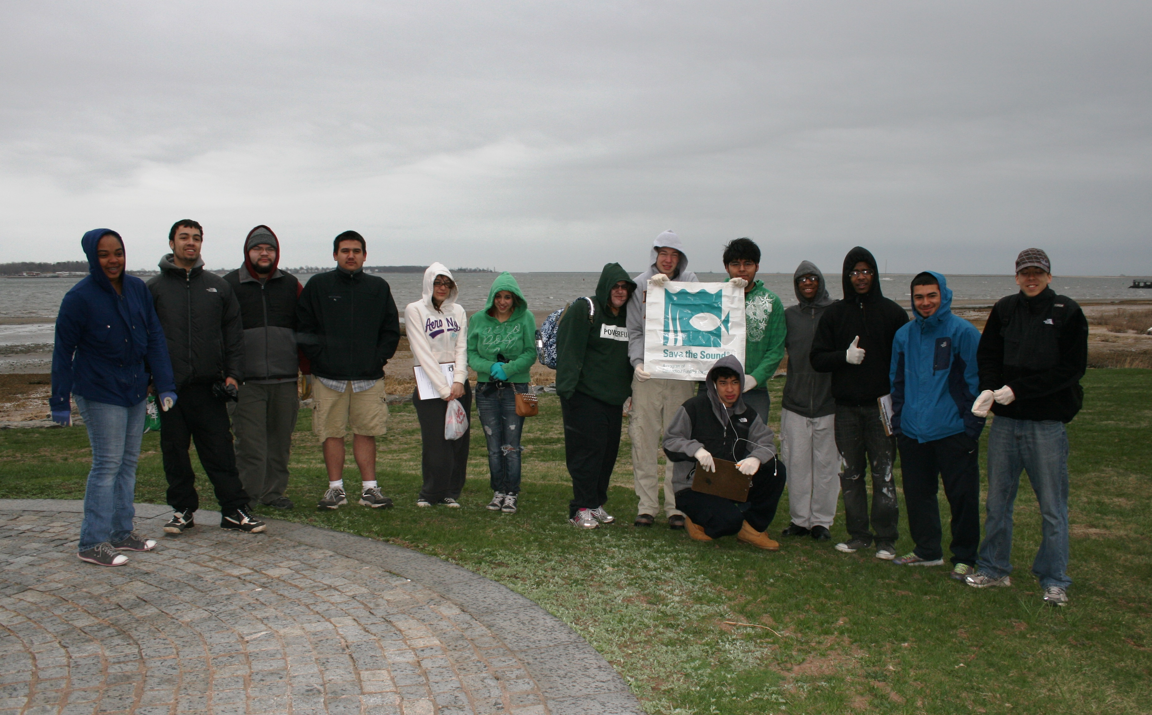 Beach cleanup with Common Ground.