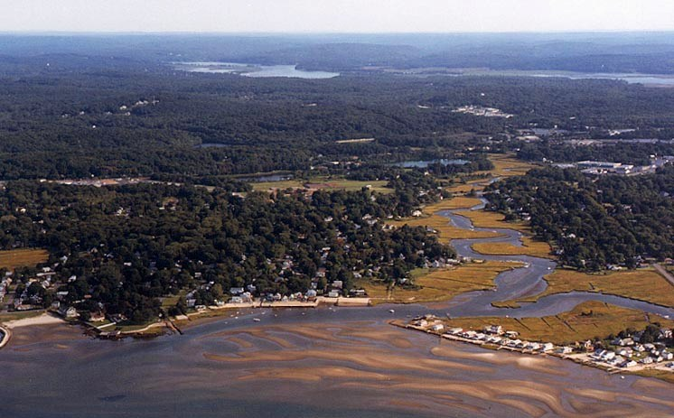 The Oyster River, whose headwaters originate in The Preserve. Photo by Robert Lorenz.