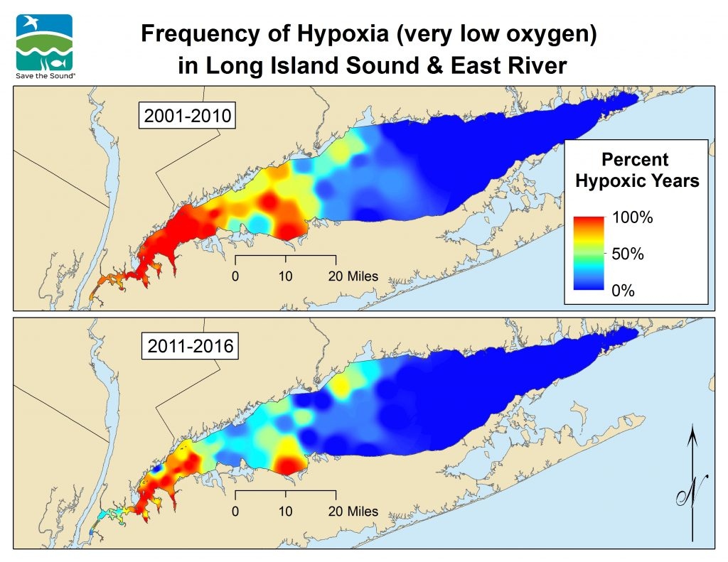 Long Island Water Quality Map