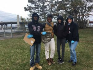Mill River Criscuolo Park cleanup